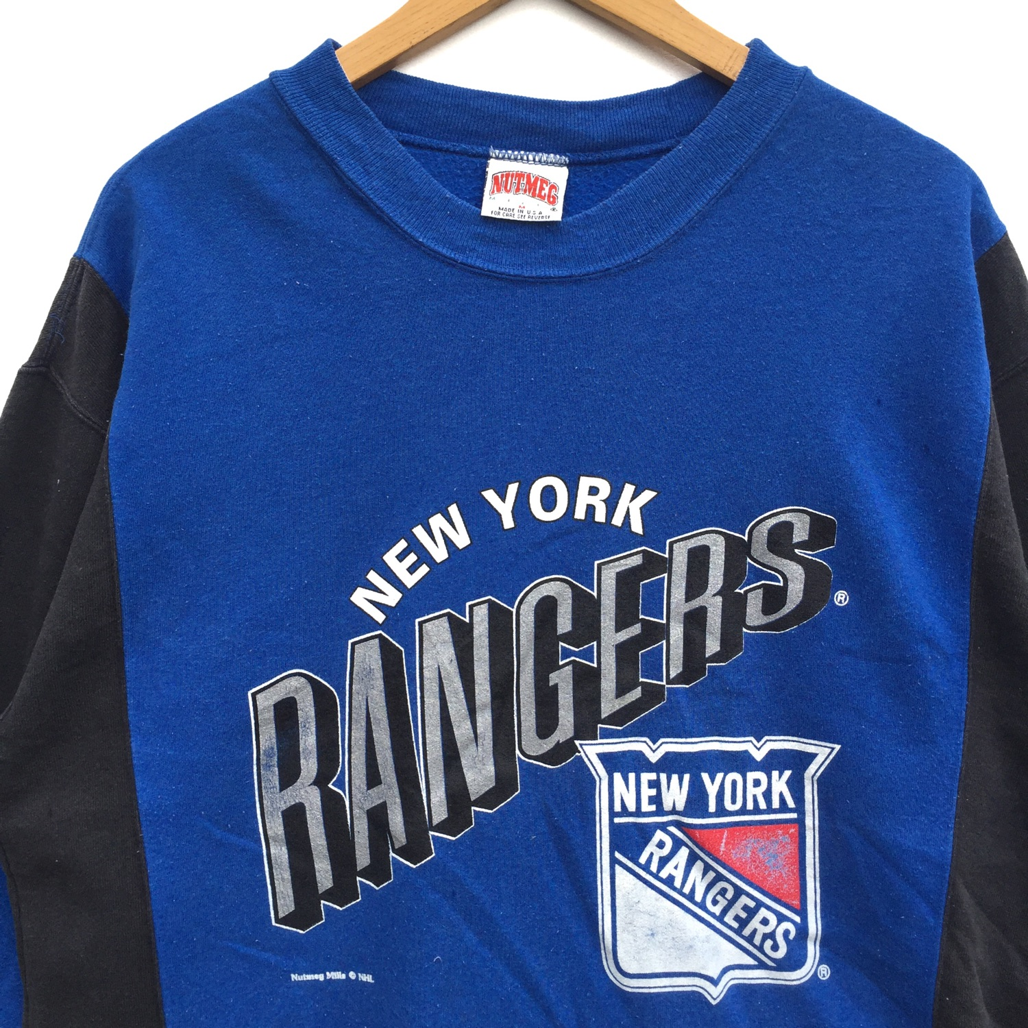 official photos 88414 eb35c Vintage 90'S 80'S Nhl New York Rangers Sweatshirt