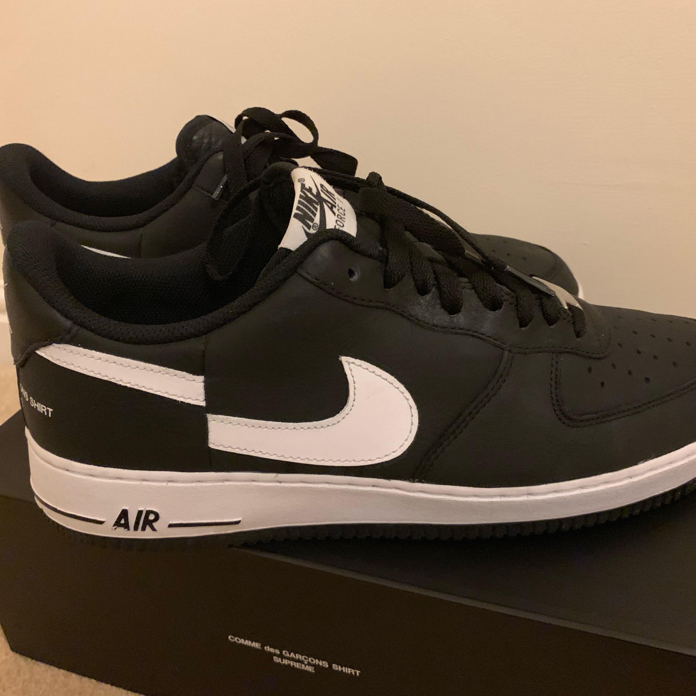 best cheap 91bd4 c3b12 Supreme X Comme Des Garcon Cdg X Nike Air Force 1