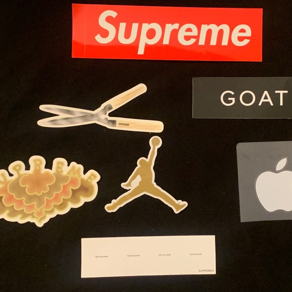 Supreme Sticker Pack !! Laptop Cover Stickers