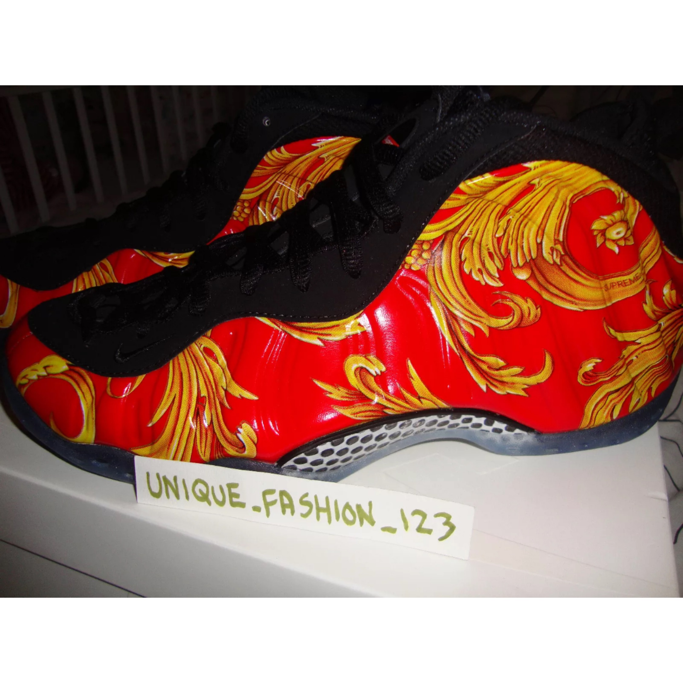 7e678f2712b Nike Air Foamposite Supreme Galaxy
