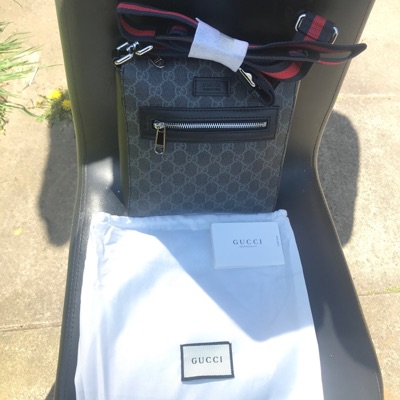 Gucci Messenger Bag Comes With Dust Bag. Not Orig