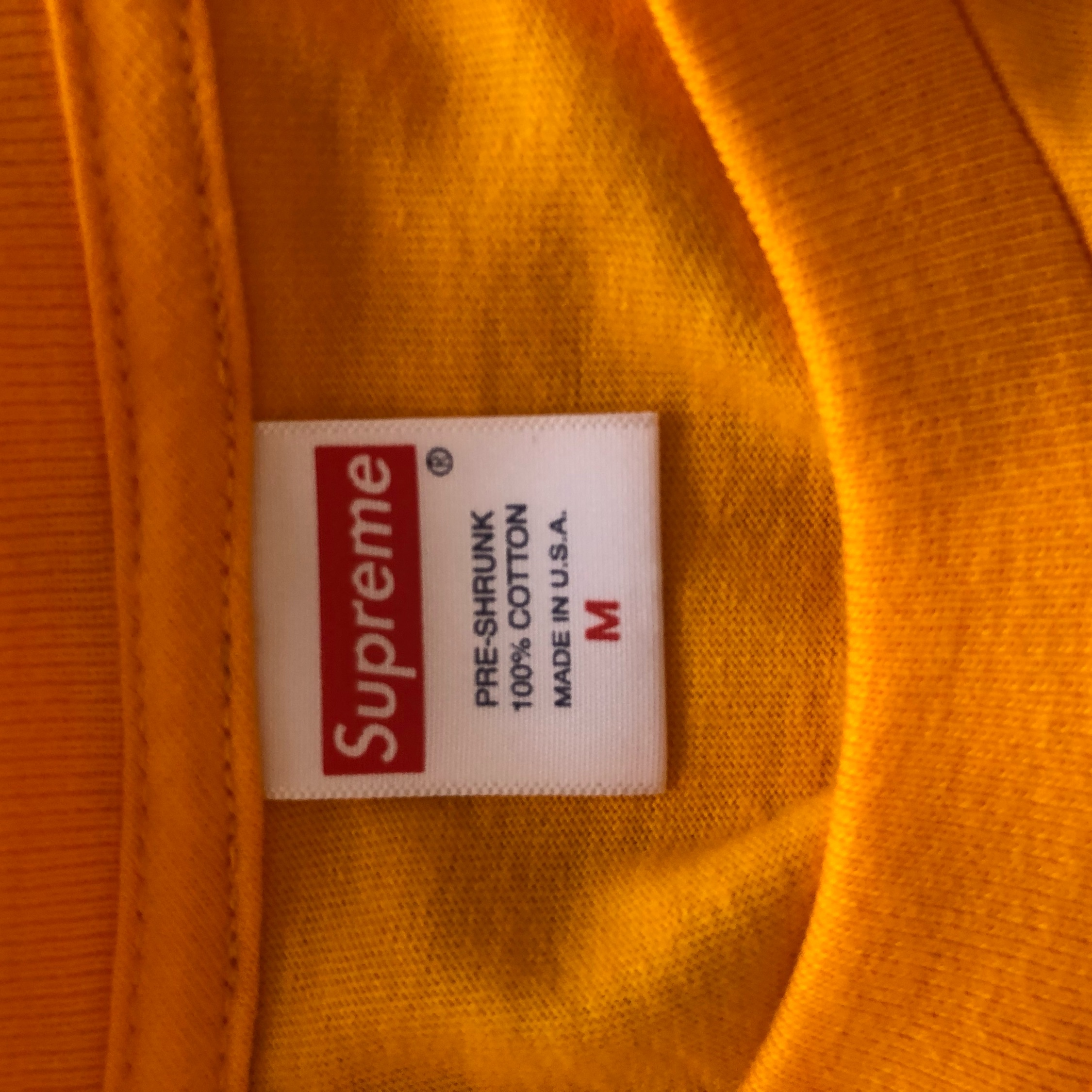 Supreme - Bright Orange Group Tee Fw18