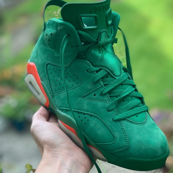 Jordan 6 Gatorade Uk7