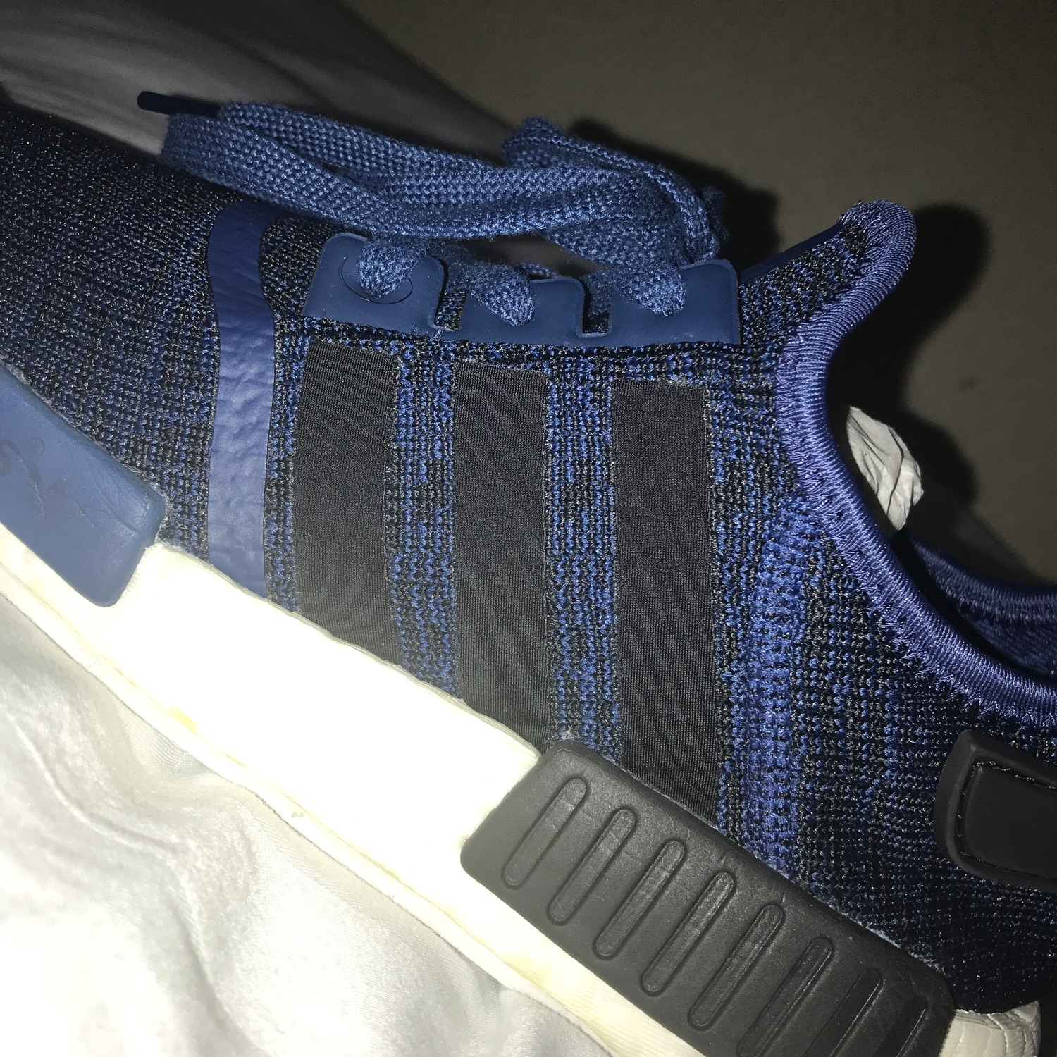 new arrivals 849ad 2fdc3 Adidas Nmd R1 Mystery Blue/Core Black/White