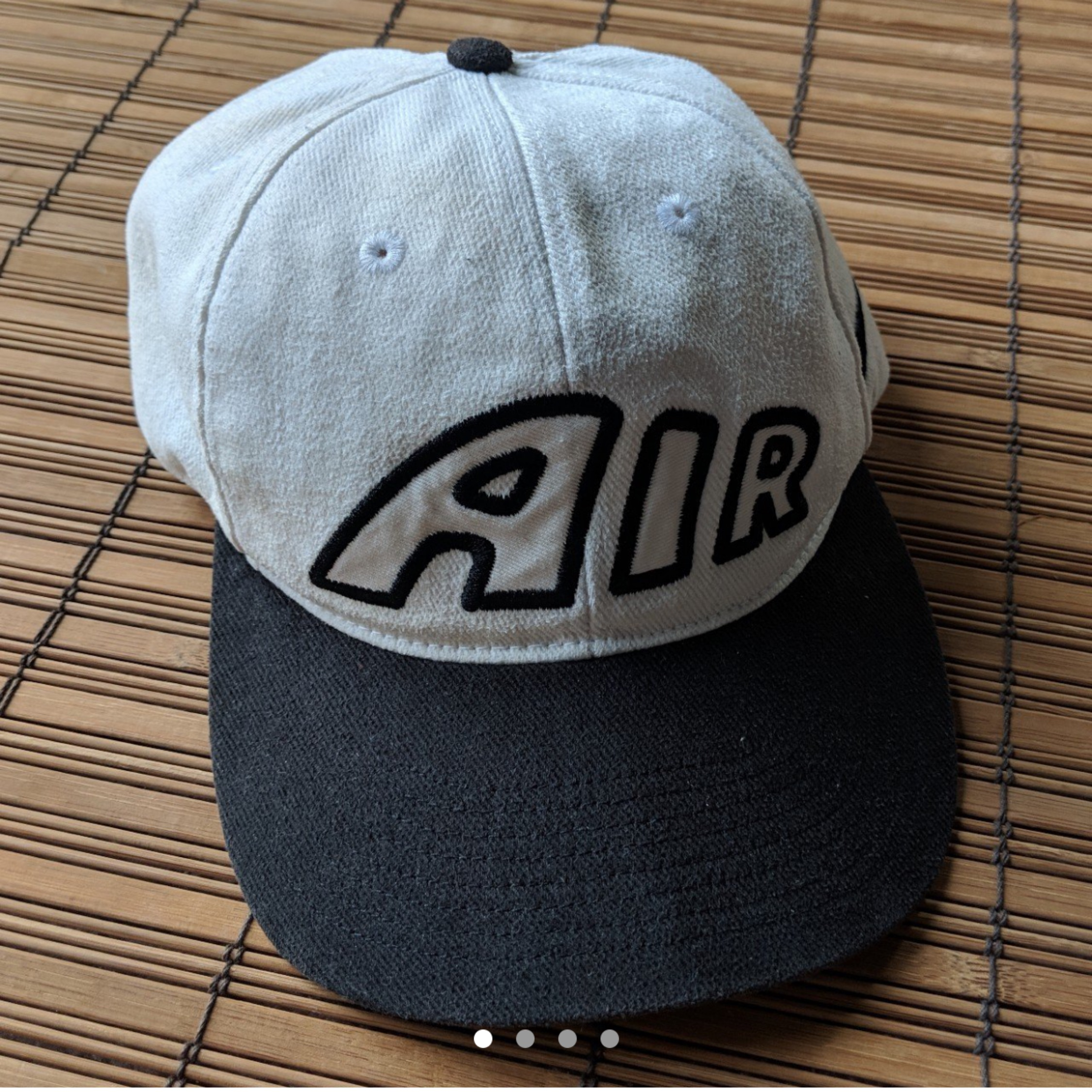 90s Nike Air More Uptempo Strapback Hat