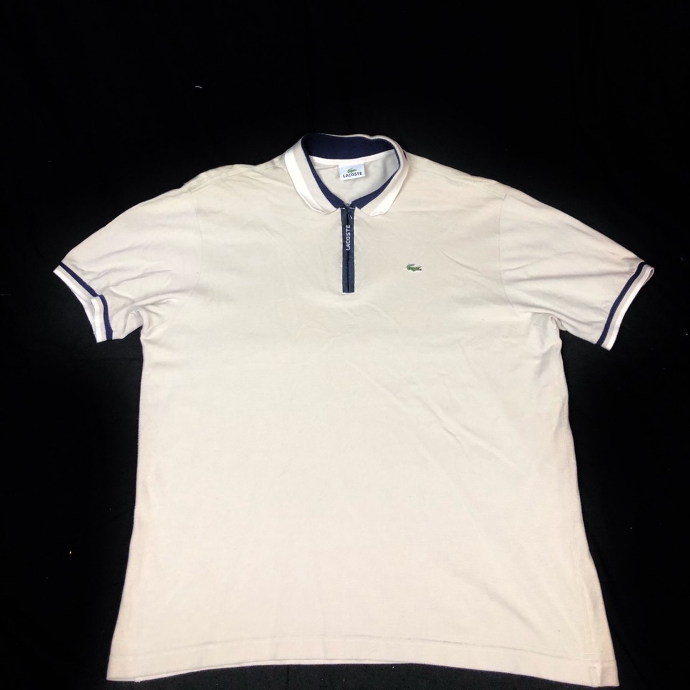 new styles 6e03f 1c654 Vintage 90S Lacoste Spellout Polo Size Xl
