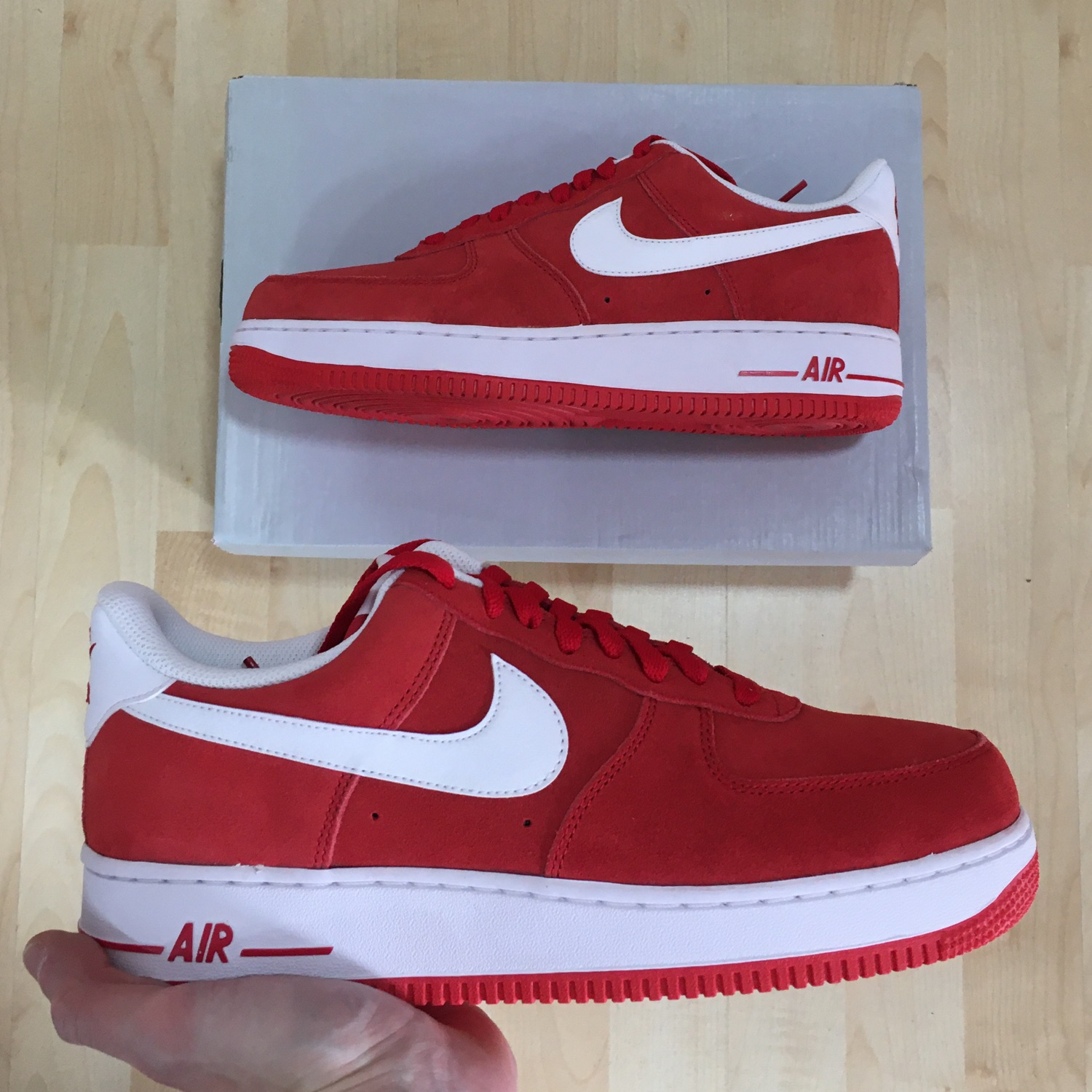 Air Force 1 Low University Red