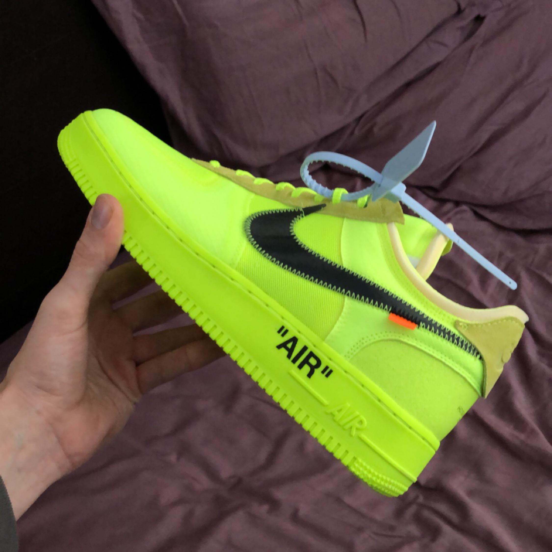 check out f24eb e7334 Off-White Nike Af1 Volt