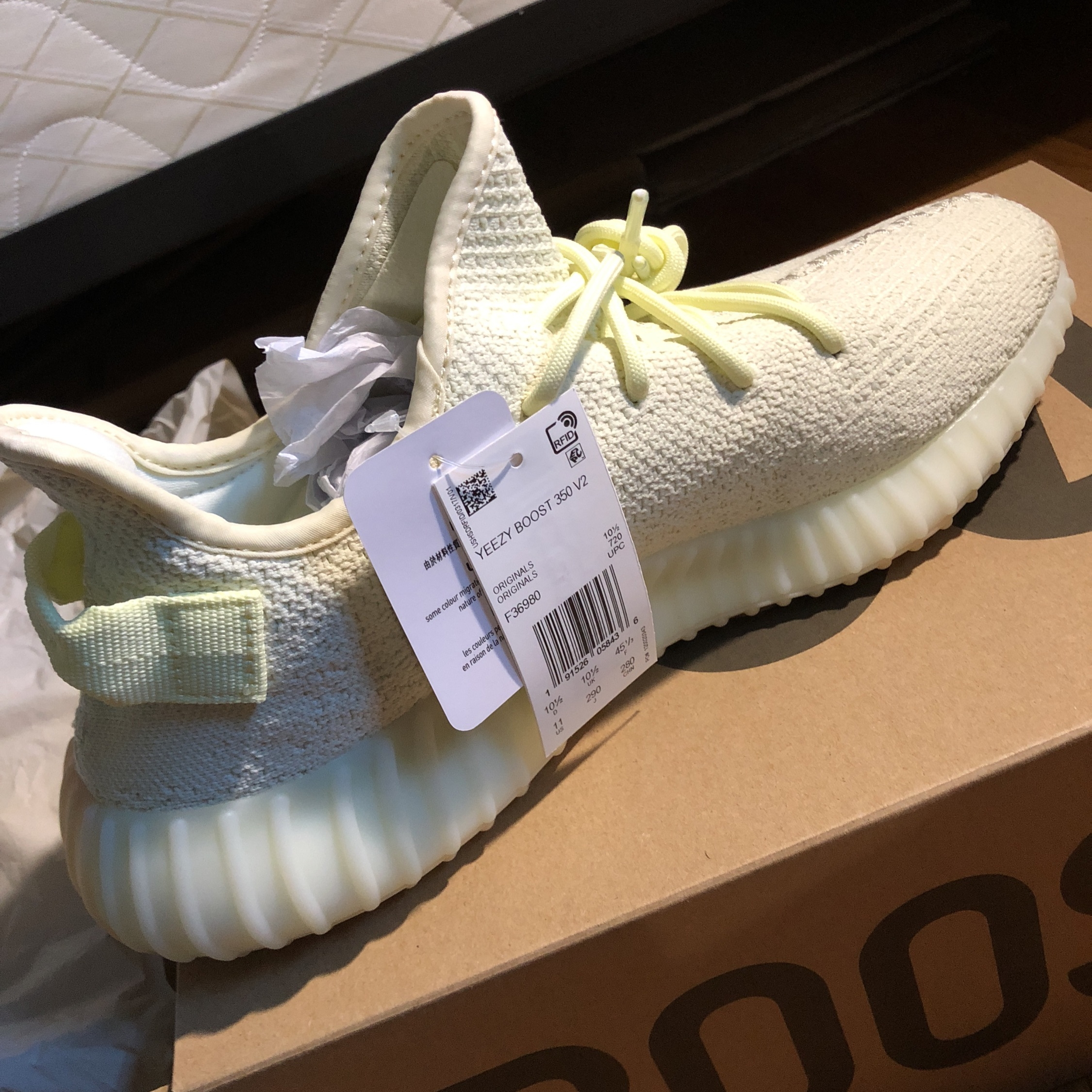 adidas Yeezy Boost 350 V2 Butter SUEDE
