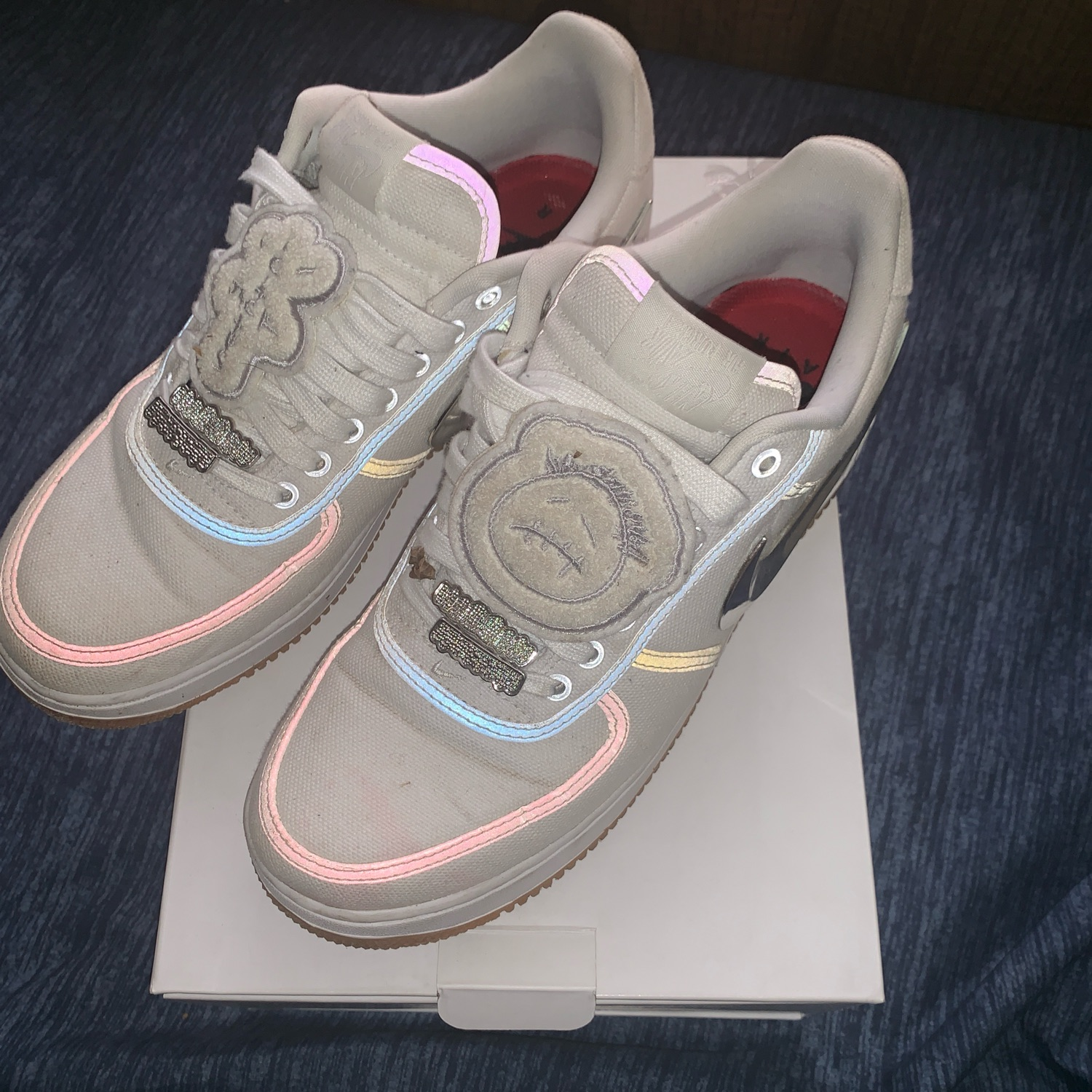 Travis Scott Air Force One