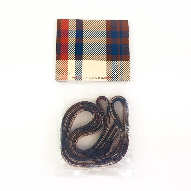 Bape Burberry Shoelaces