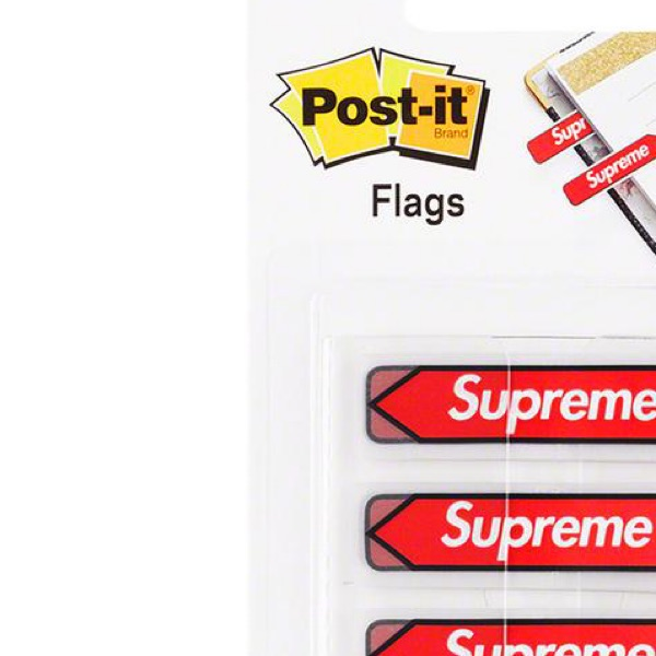 Supreme Post-It Flags