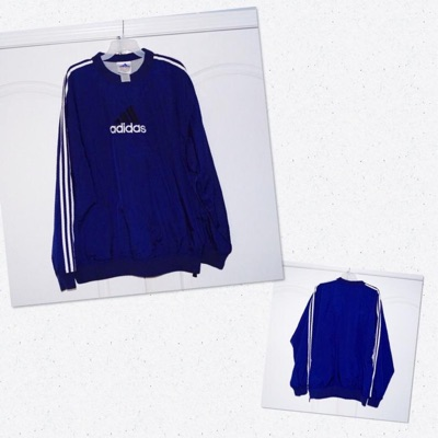 Vintage Adidas 90S Lined Pullover Jacket