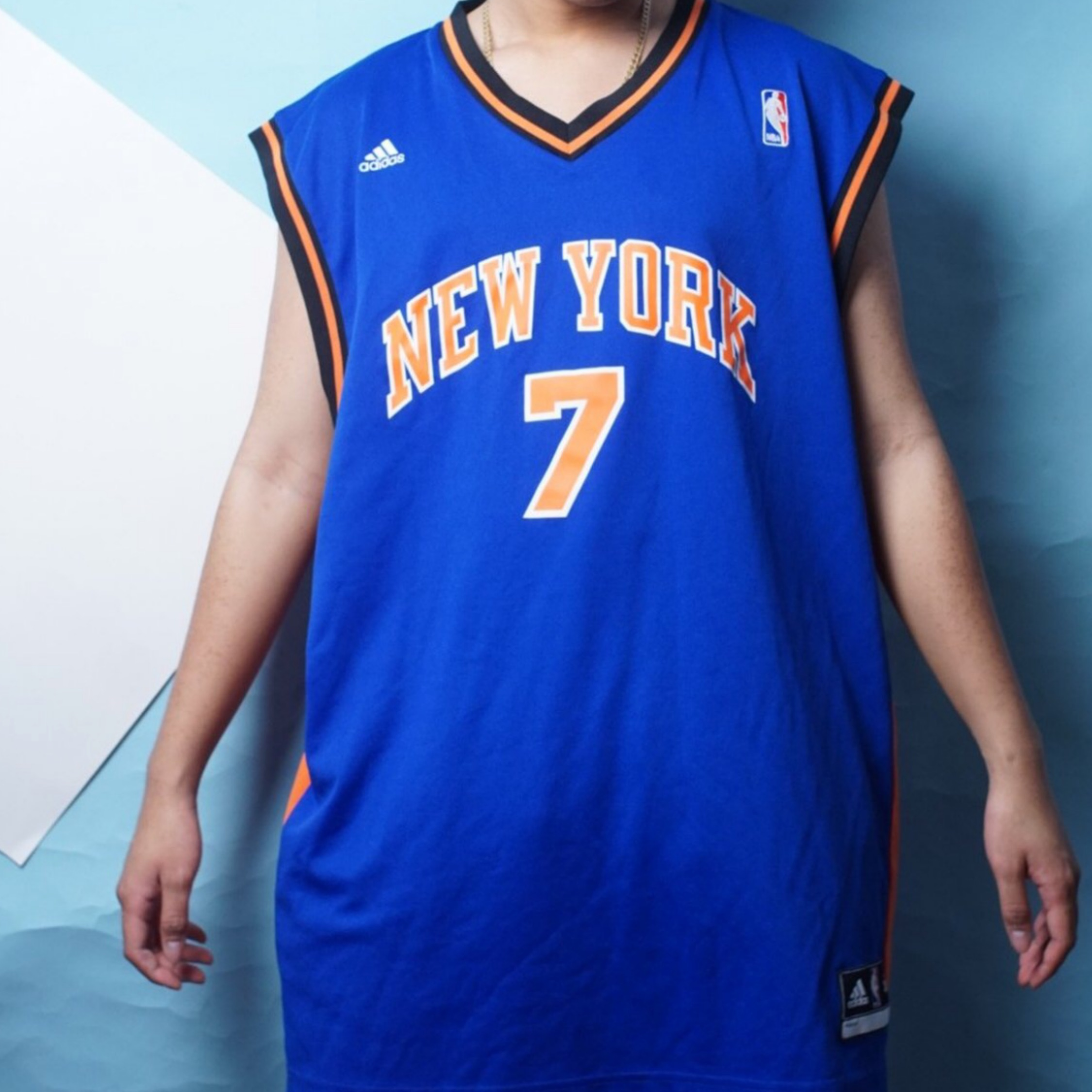 competitive price 845ec fc0b4 Adidas New York Knicks Jersey