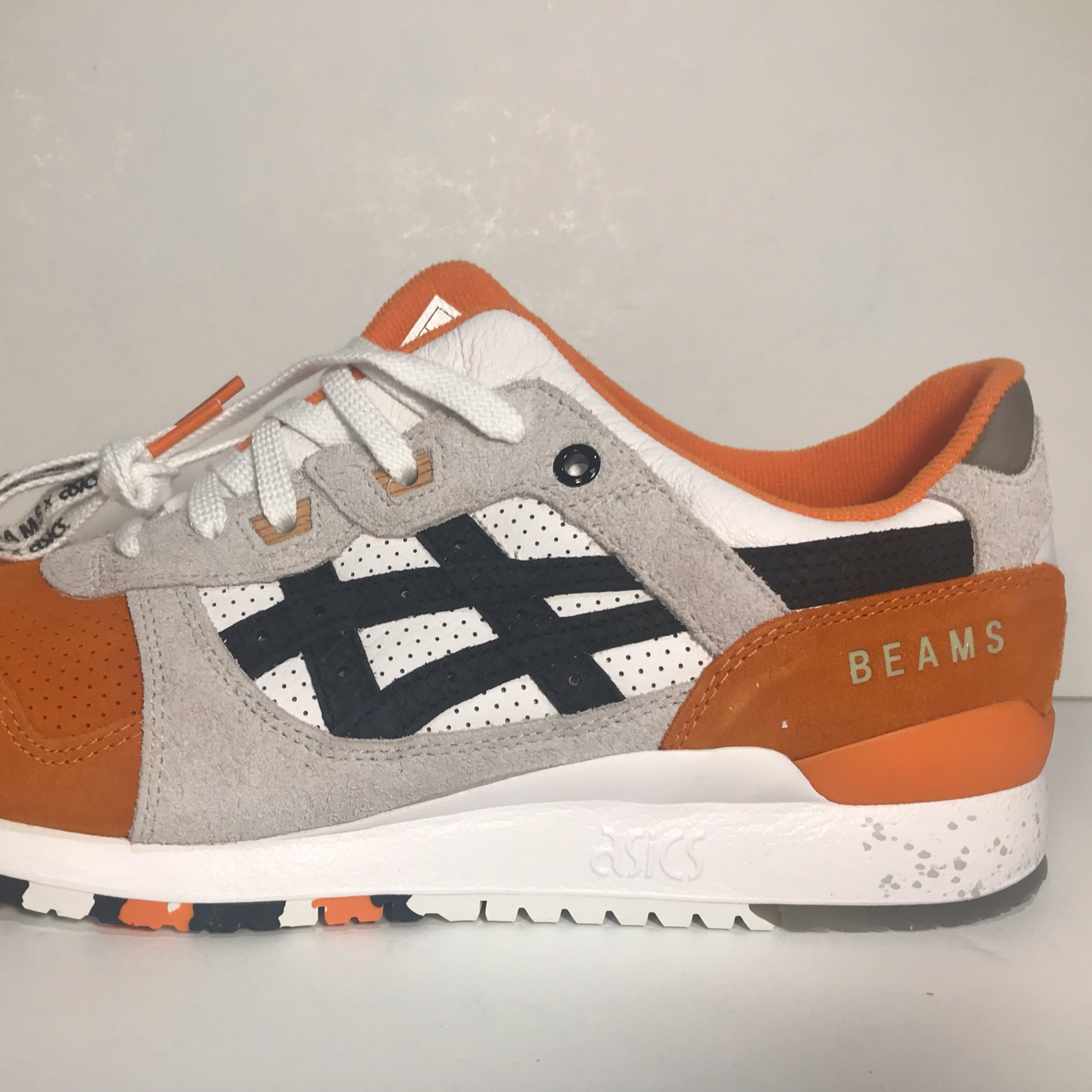 online store 36400 bf5b4 Asics Gel Lyte 3 X Afew X Beams Orange Koi Dswt