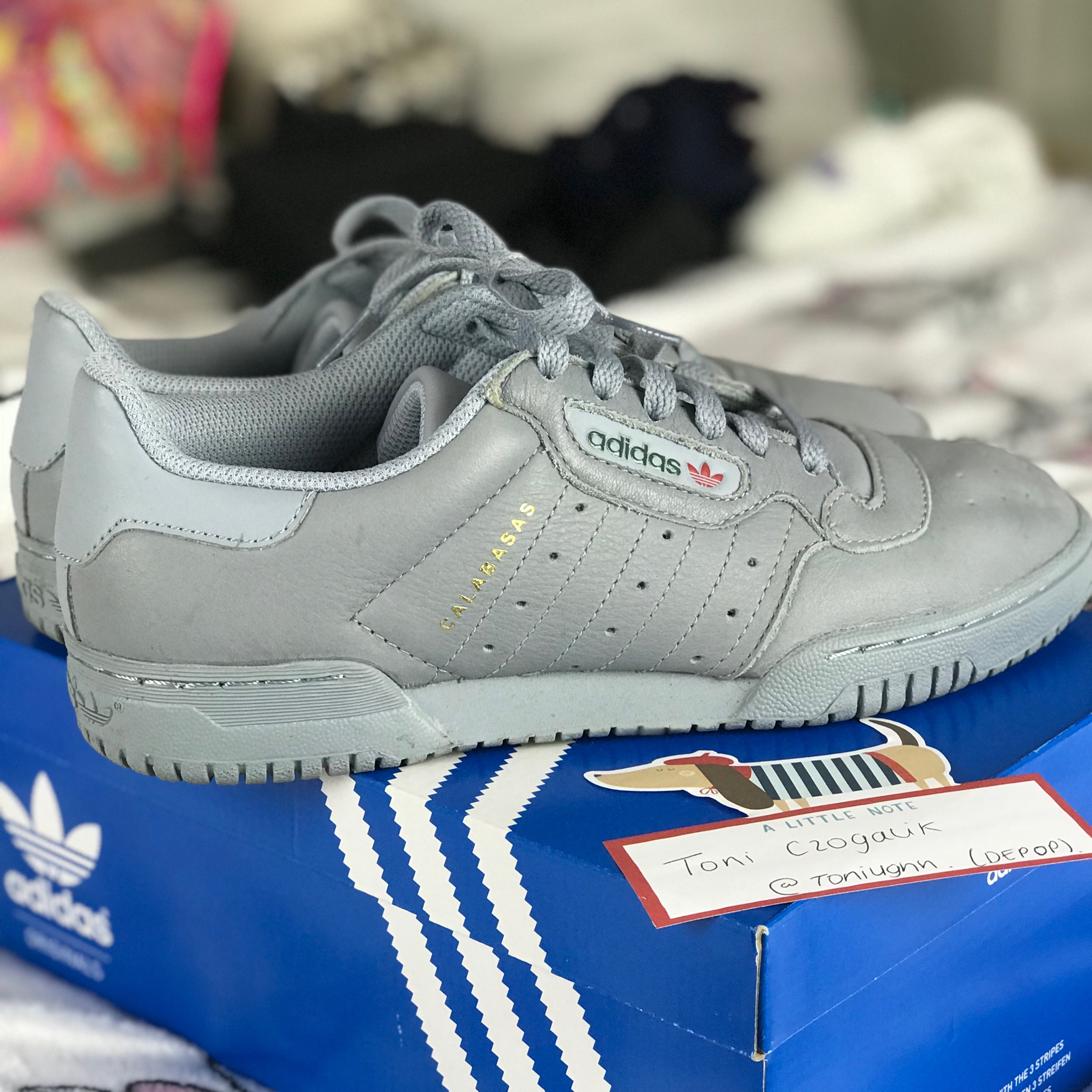 fc28e0398af Adidas Yeezy Powerphase Calabasas Size 5