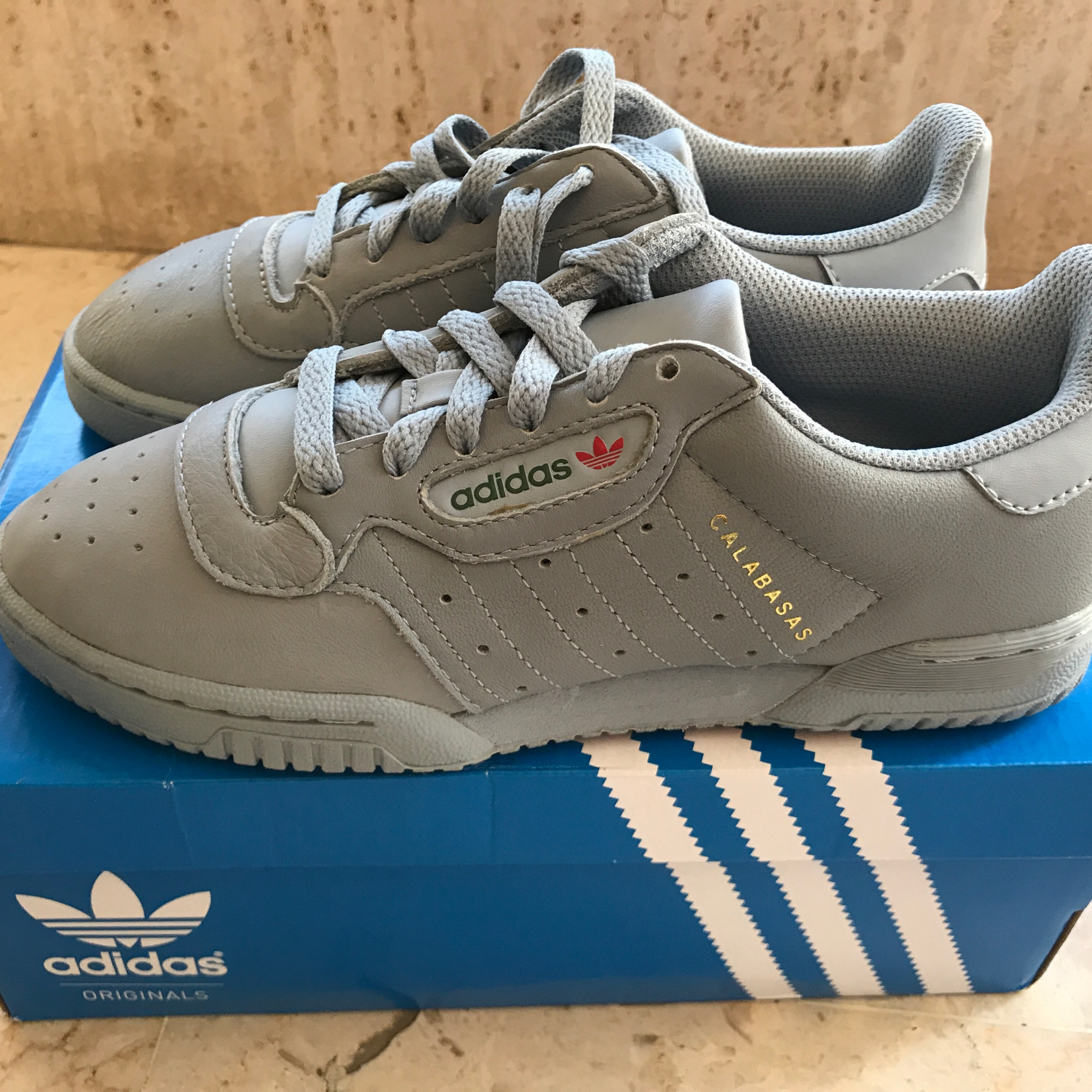 f7808893 ... adidas yeezy powerphase grey Adidas Yeezy Powerphase Grey Calabasas Size  ...