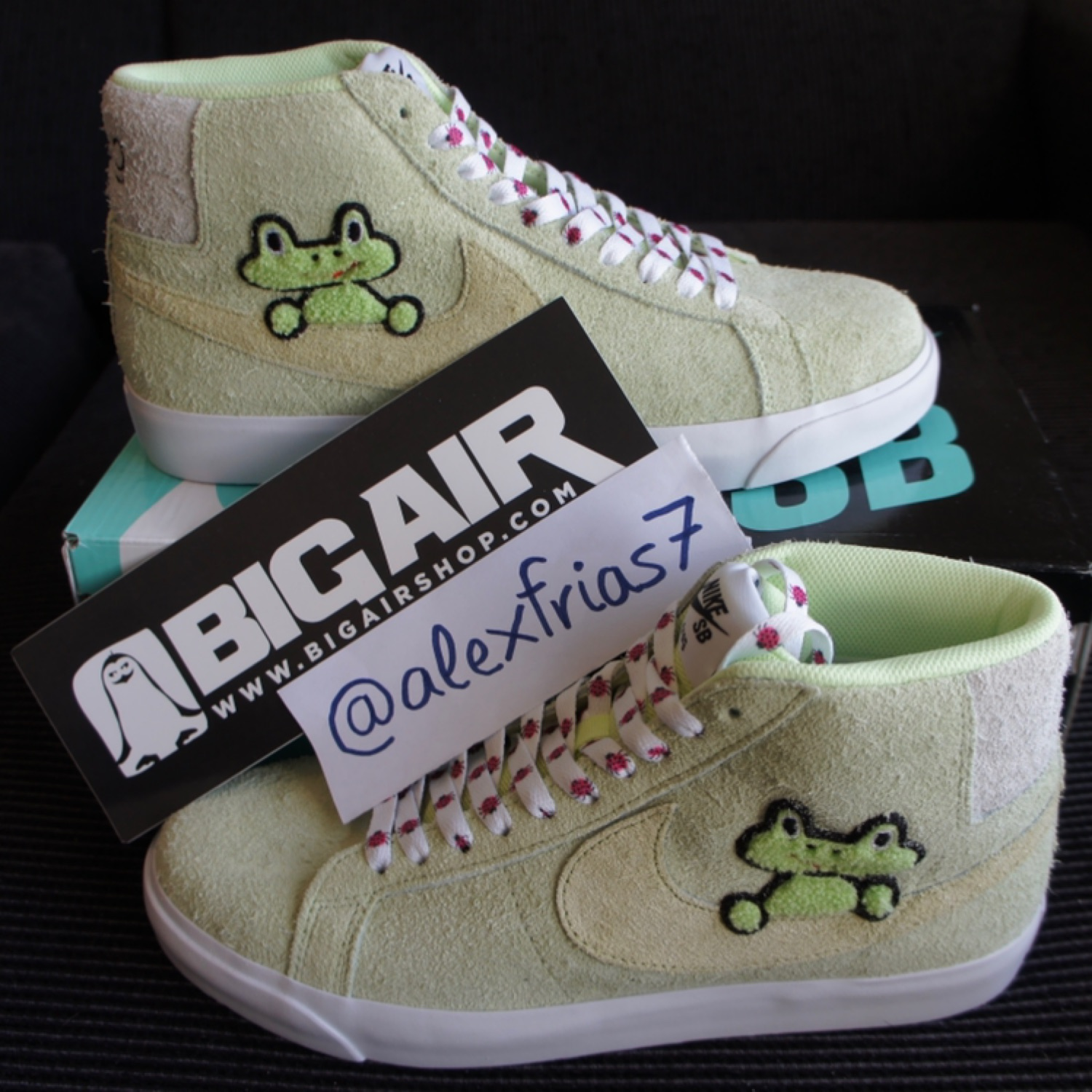 utterly stylish 50% off new style Nike Sb Blazer Frog Skateboards