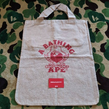 BAPE Pirate store Big Tote Bag