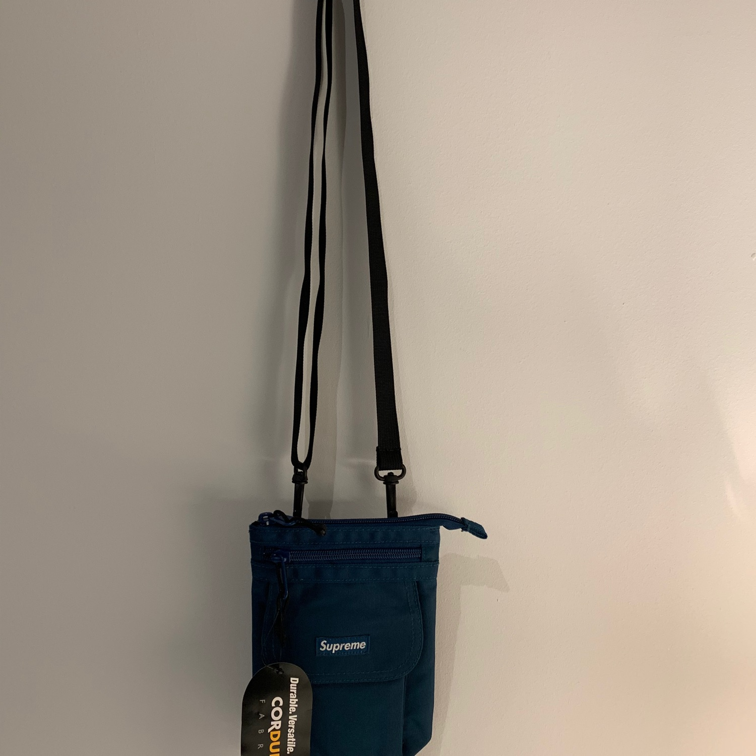 Supreme Shoulder Bag Fw19 Teal