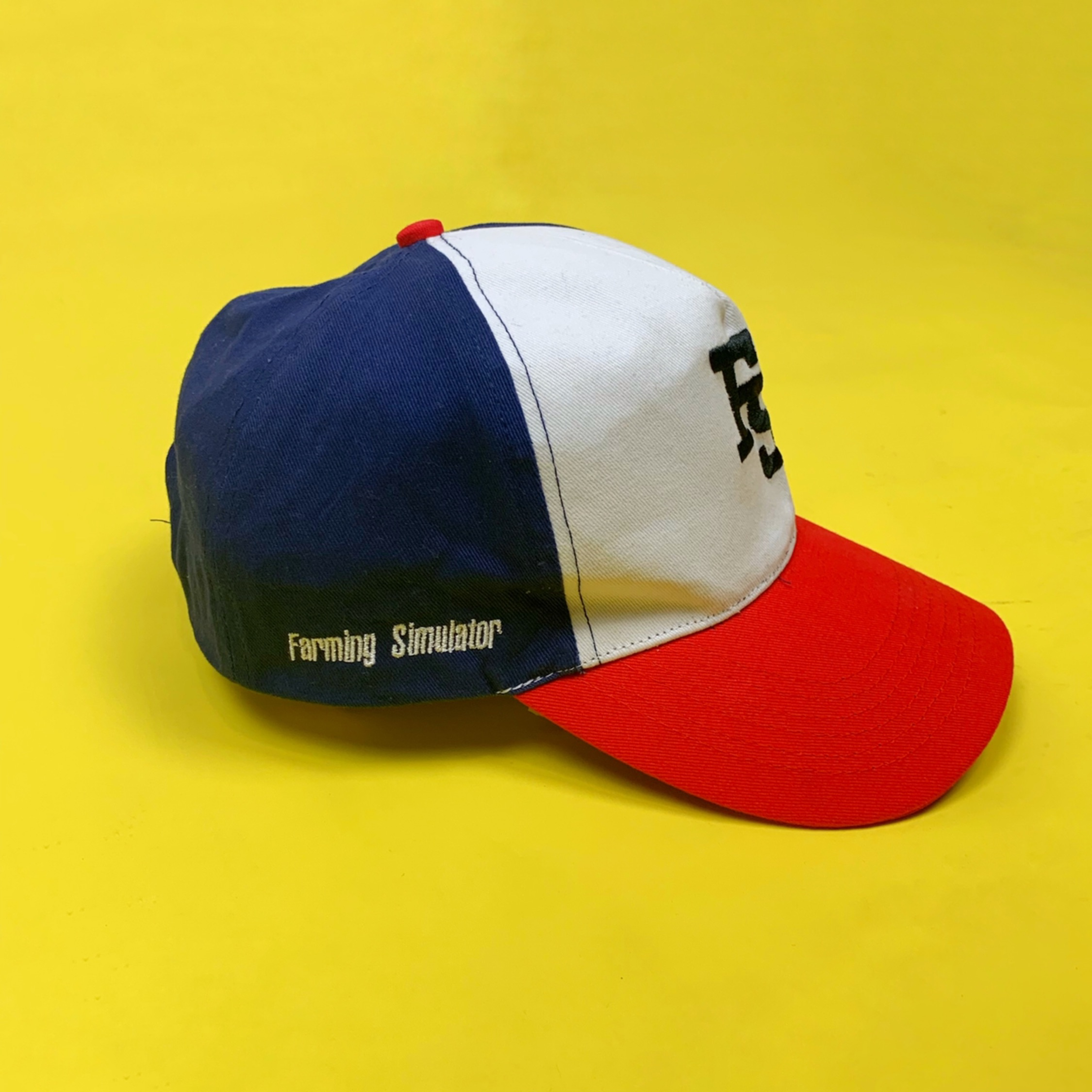 Vintage Farming Simulator Embroidered Cap