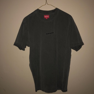 Supreme Overdyed Tee (SS19) Black