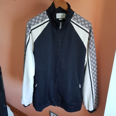 Gucci Technical Jersey Jacket, Gg Size L