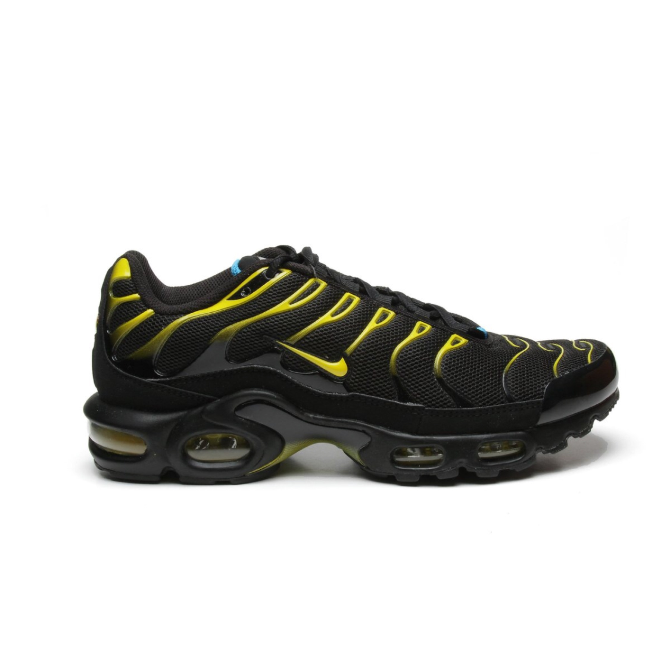 free shipping 180f7 dd845 Nike Air Max Plus Tn Black/Yellow Eu42