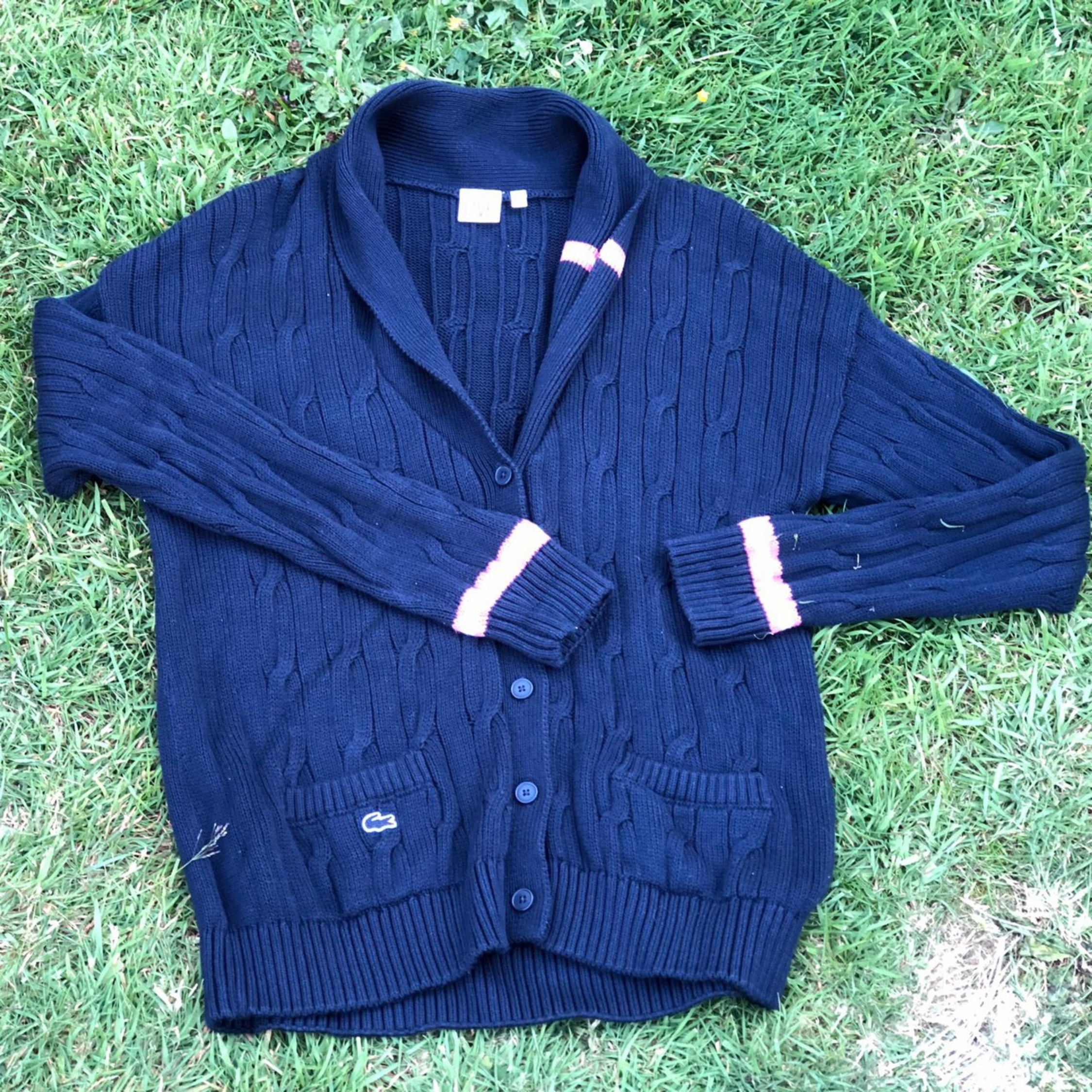 great deals pretty cool popular stores Lacoste Live Cricket Cardigan Size Xl