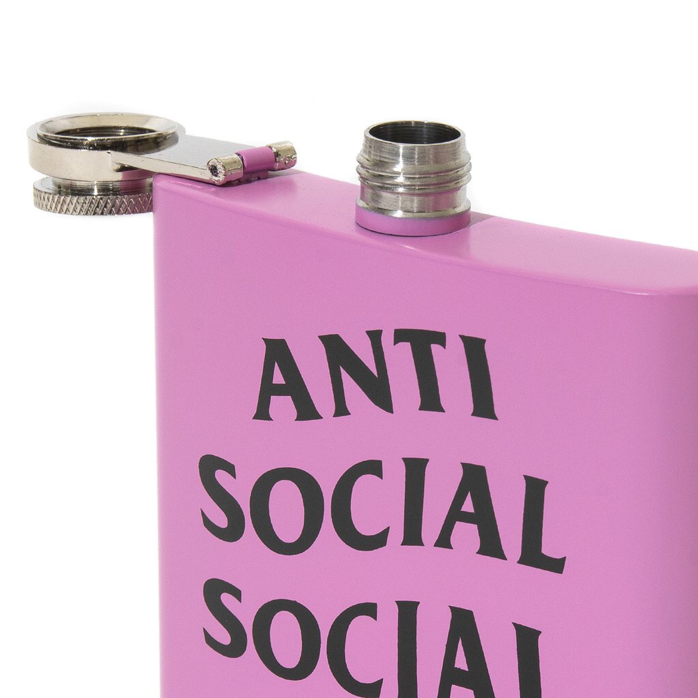 Anti Social Social Club Needy Flask Pink