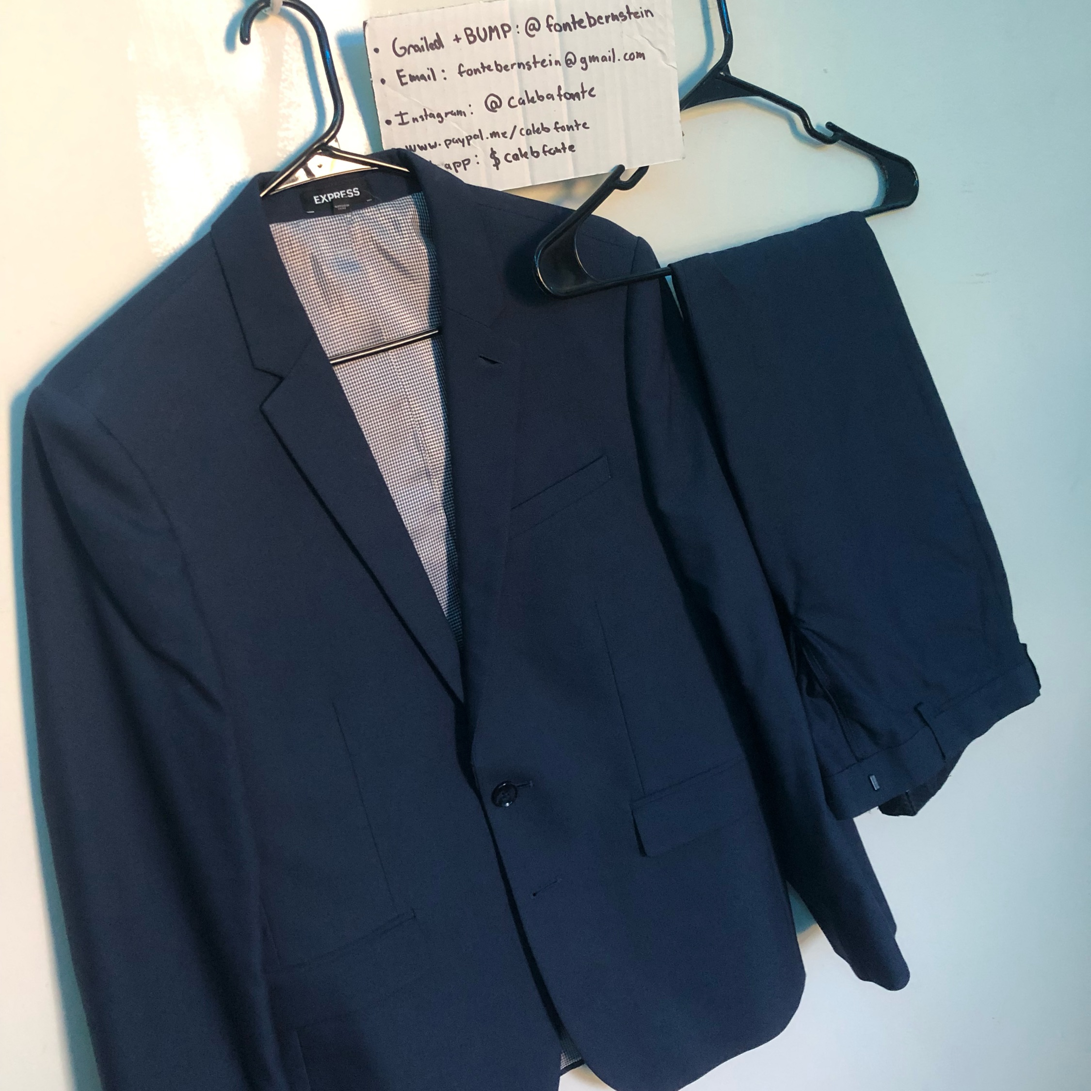 Taking Offers Express Mens Suit Blazer And Pants