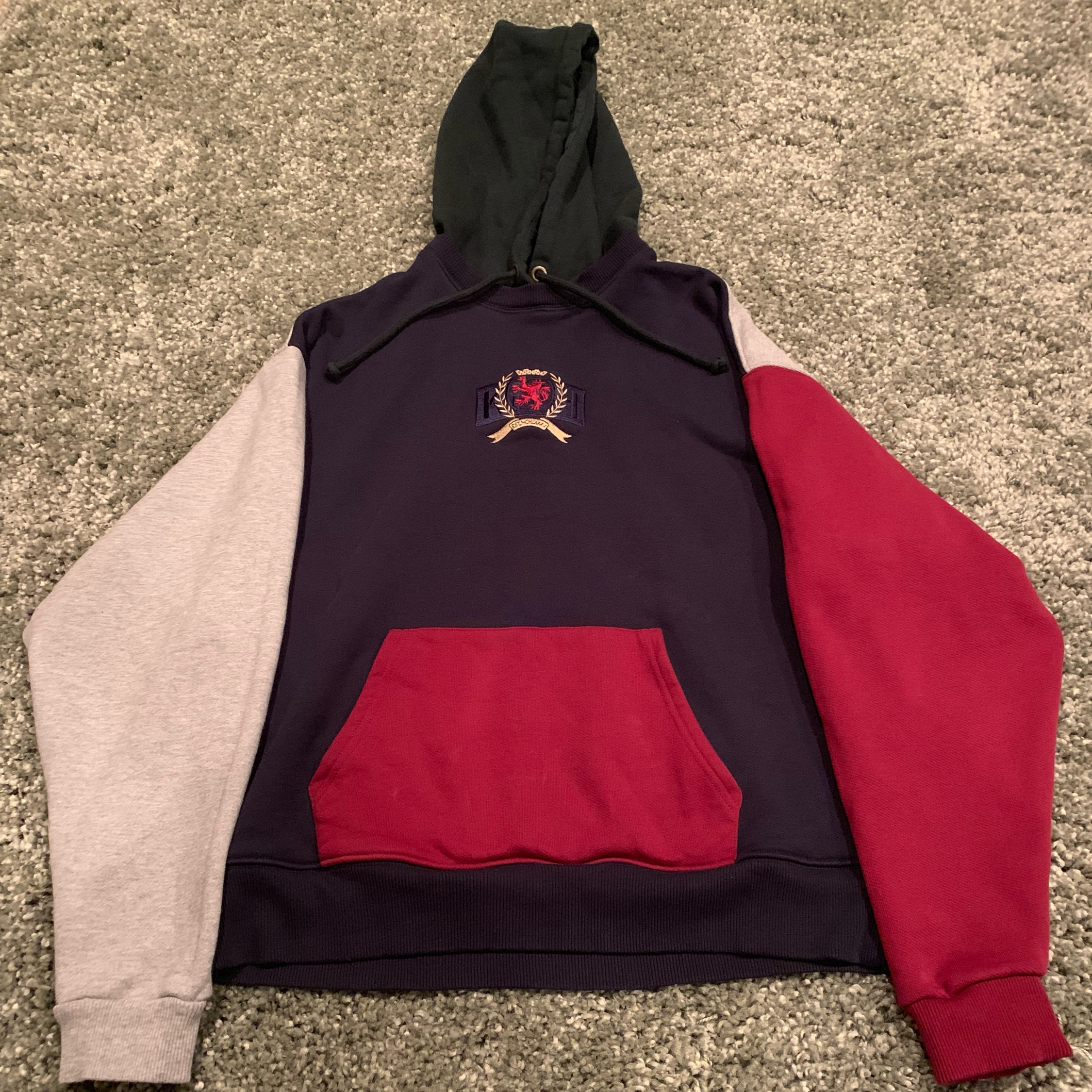Kith Tommy Hilfiger Crest Hoodie Multi Color
