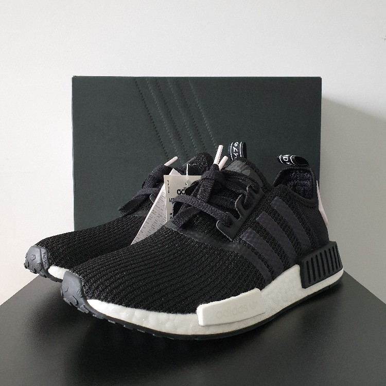 Adidas Nmd R1 Core Black Clear Pink W