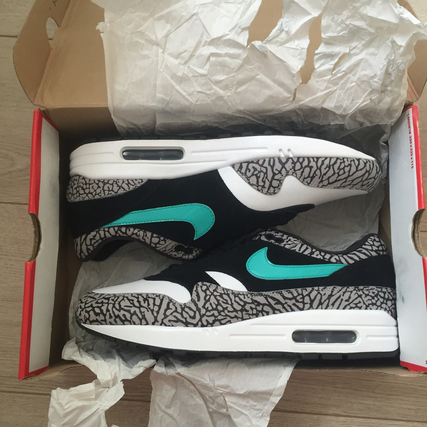 nike air max 1 atmos elephant for sale
