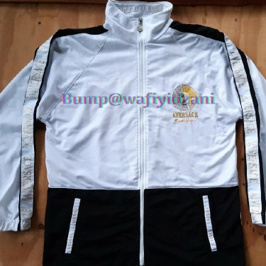 Versace Jacket Side Tape sleeve Embroidered Logos