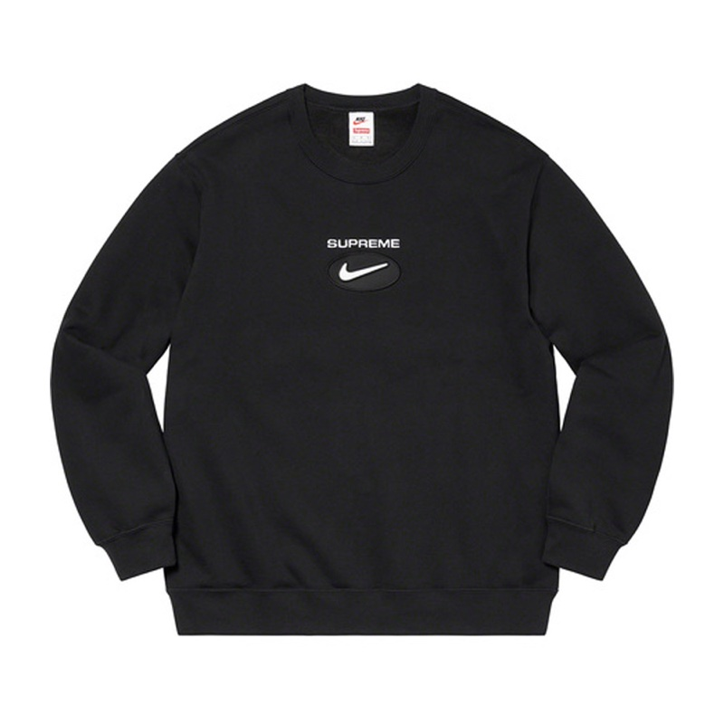 Supreme Nike Jewel Crewneck Black