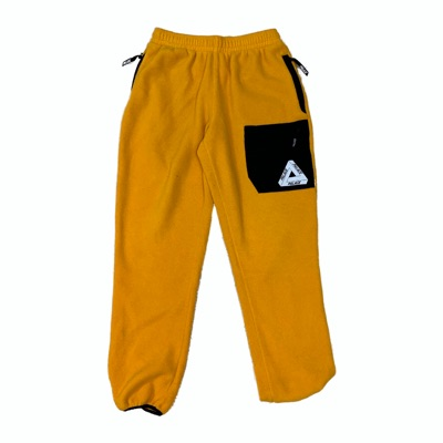 Palace Polartec Flee Joggers Zinnia Yellow