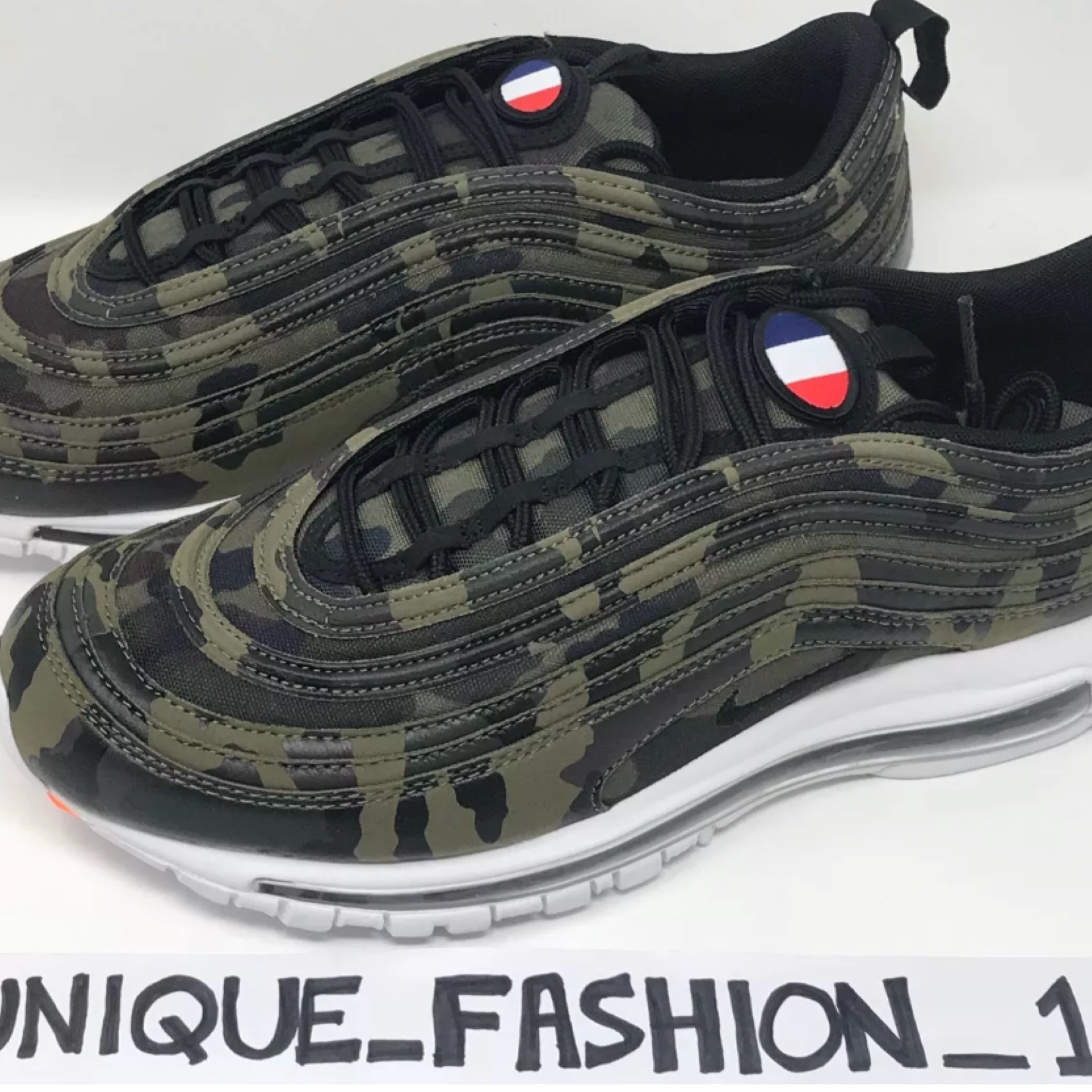 Nike Air Max 97 France Country Camo Qs