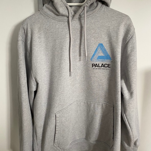 Palace C-Ard Hood Grey