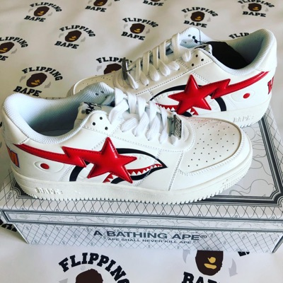Bape Shark Bape Sta Low