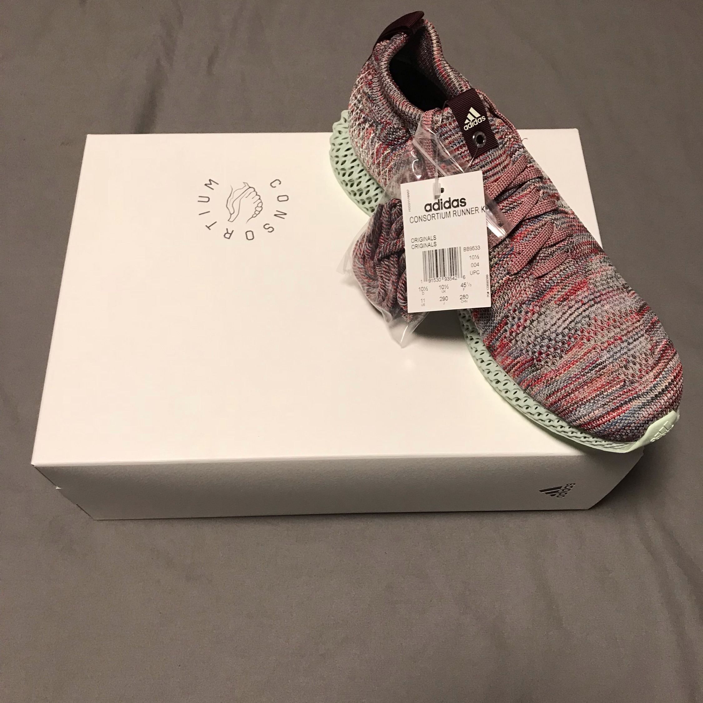 outlet store 70fa8 8609a Kith X Adidas 4D *800 Pairs In The World*
