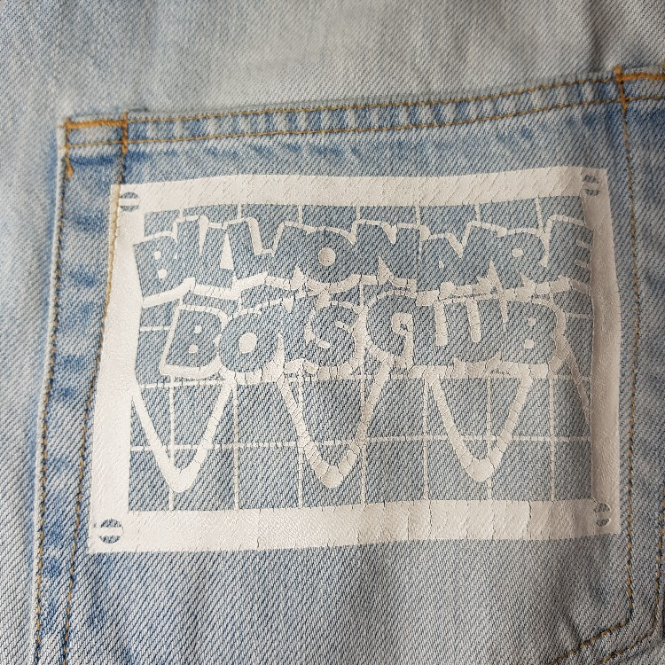 VINTAGE EARLY 2000 BBC WASHED DENIM JEANS
