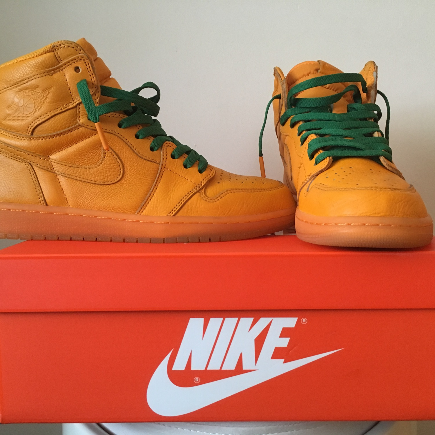 "brand new f233d 71de4 Og Air Jordan 1 ""Gatorade"" Orange Peel"