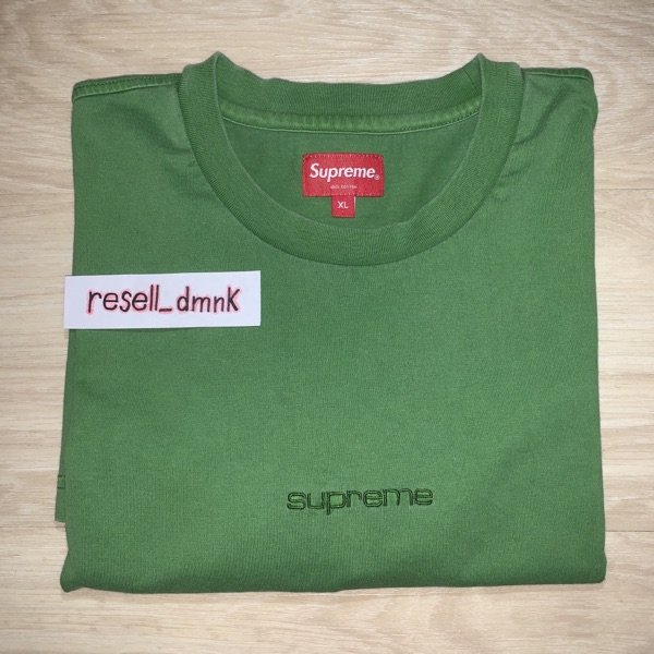 Supreme Overdyed Tee (SS19) Green