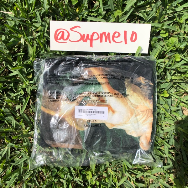 Supreme Lade And The Swan Tee