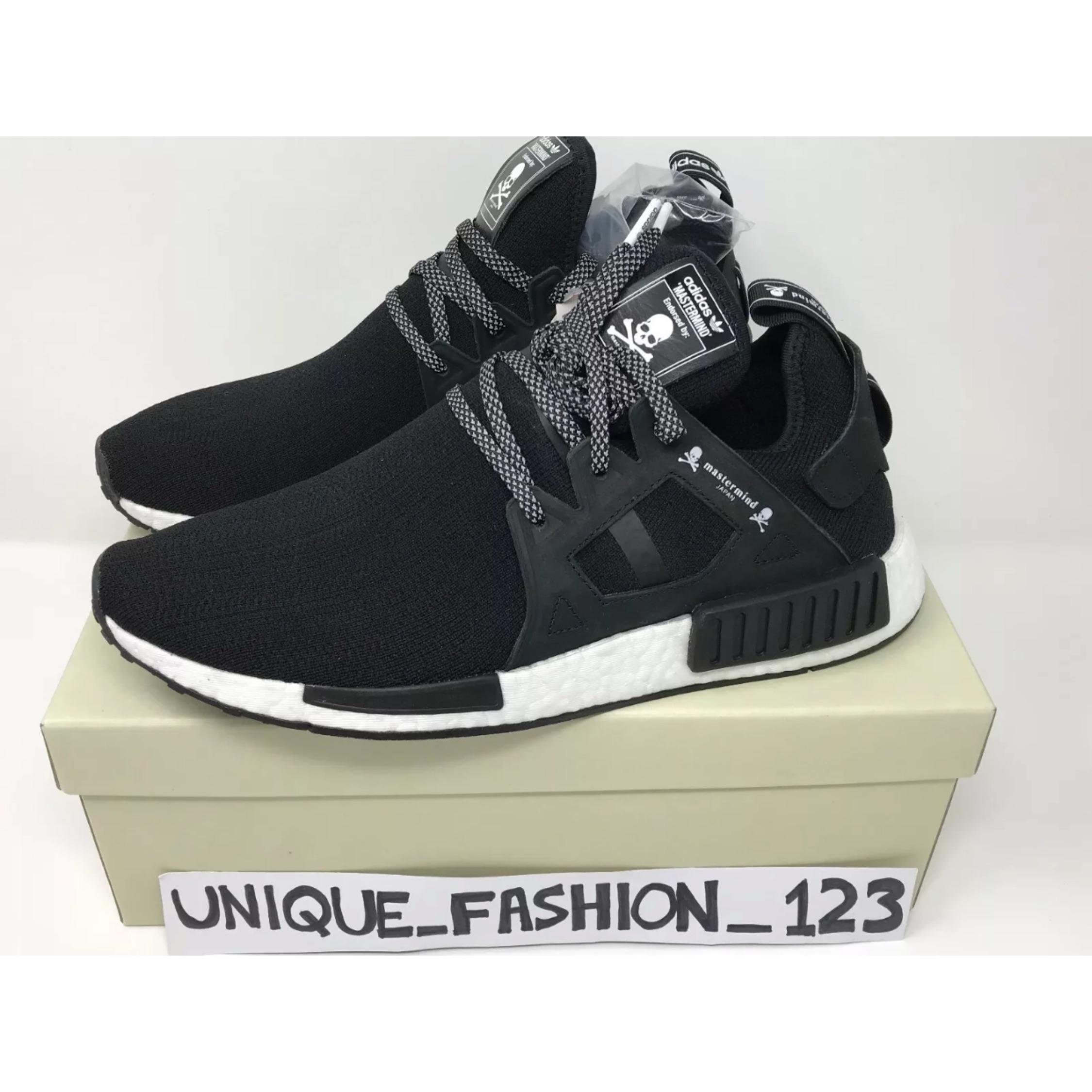 cheap for discount e04f2 5f80d Adidas Nmd Xr1 X Mastermind Black Japan Consortium