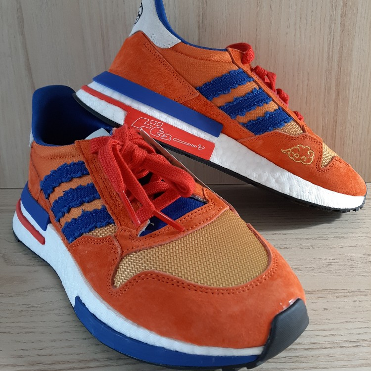 low priced 6508f 7e6b9 Dragon Ball Z x Adidas ZX 500 RM