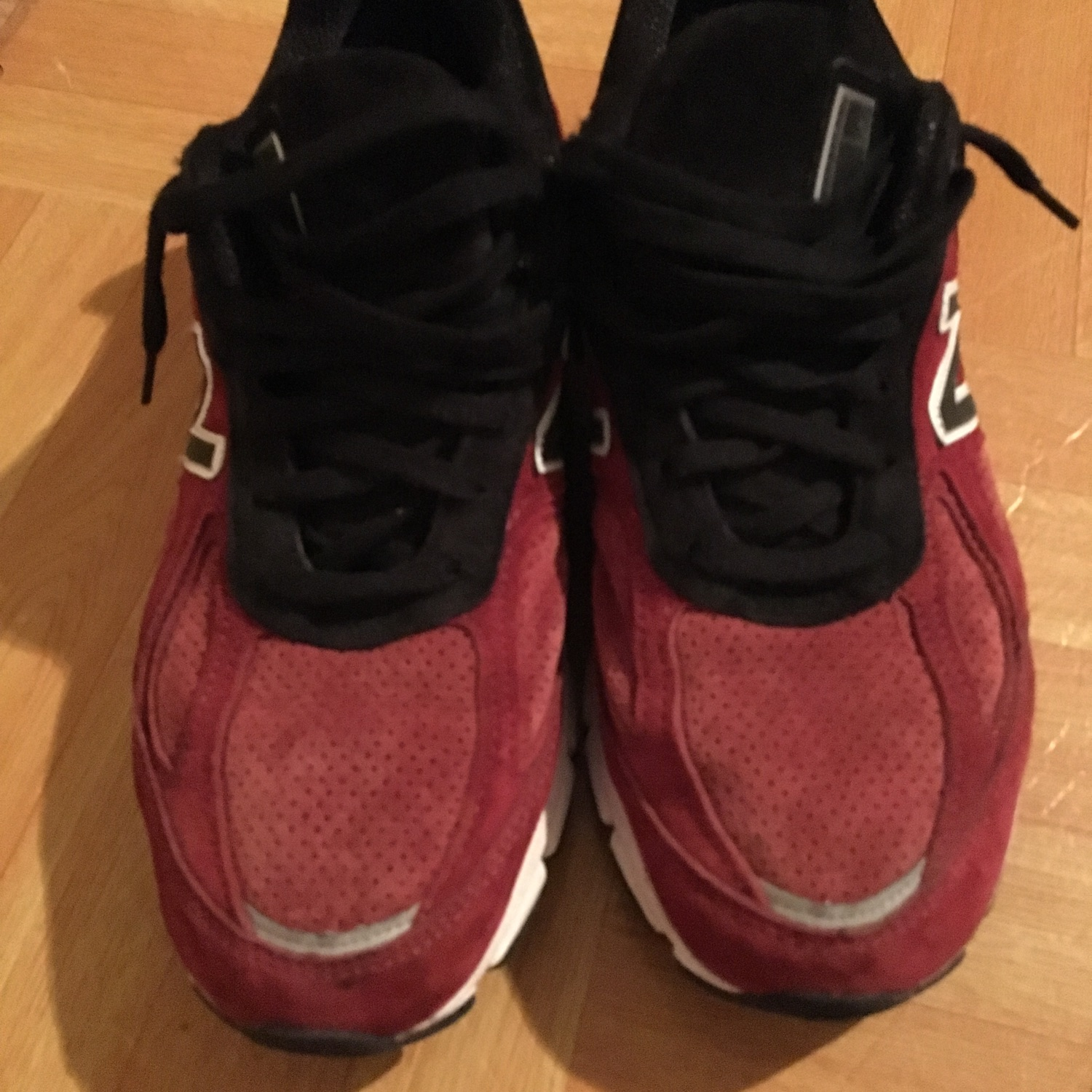 cheap for discount 21521 26630 New Balance 990S Red And Black Color Way