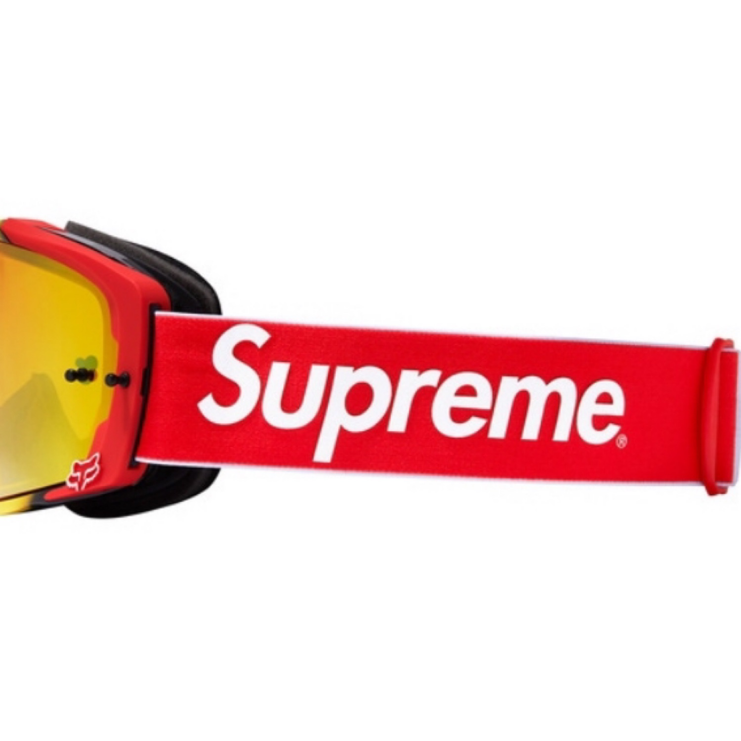 Supreme Honda Fox Racing Red Vue Goggles