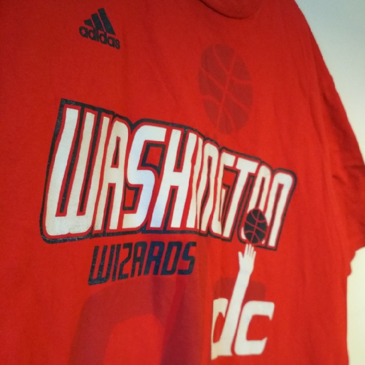 cheap for discount e4758 eed4a Vintage Washington Wizards T Shirt NBA Large L